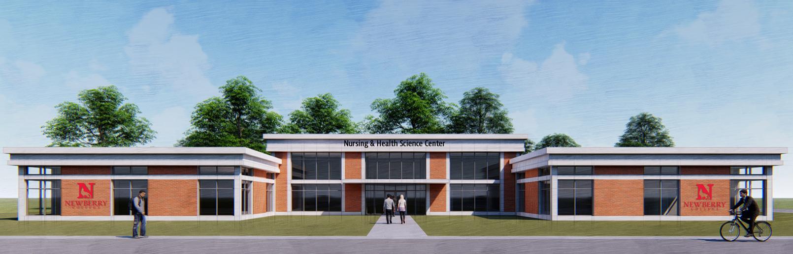 conecptual Science, Math & Nursing Building