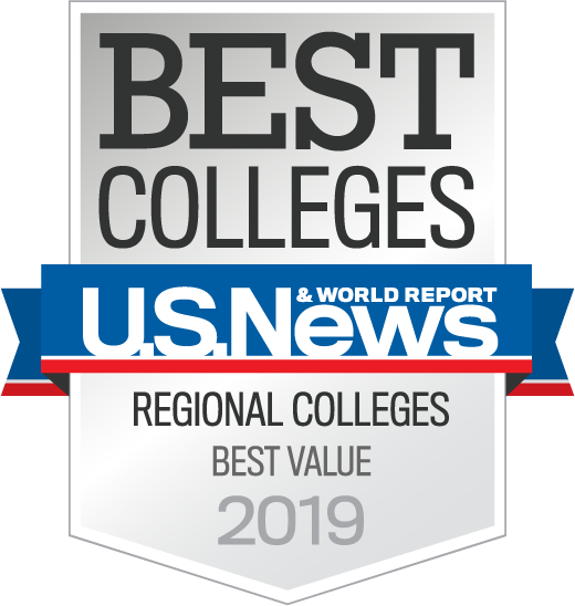US News Best Colleges 2017 logo