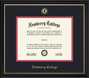 Newberry College diploma