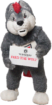 Stuffed animal, Fred the Wolf