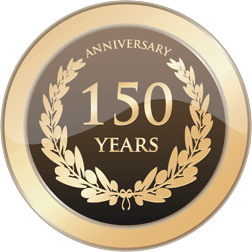 Anniversay 150 years seal
