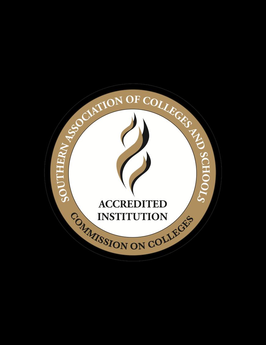 SACS Accreditation stamp