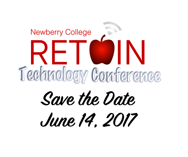 Newberry College Retain Technology Conference Save the Date June 14, 2017